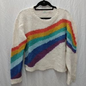 Kimchi Blue Rainbow Sweater